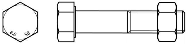 ISO 4014 Болтовые комплекты